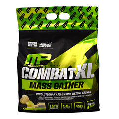 MusclePharm Sport Series Combat XL Mass Gainer - Vanilla - 12 lbs - 653341044914