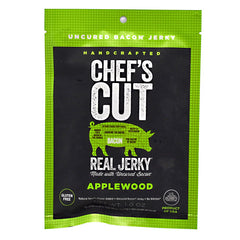 Chefs Cut Real Jerky Real Bacon Jerky - Applewood - 1 oz - 858959005788