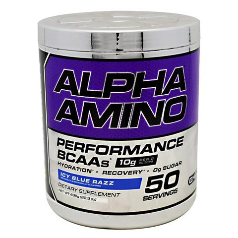 Alpha Amino BCAA with FREE Shaker Bottle & FREE Funnel