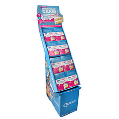 Quest Nutrition Quest Protein Bar Shipper - Birthday Cake - 8 Bars - 10888849005977