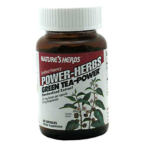 Natures Herbs Power-Herbs Green Tea-Power