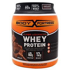 Body Fortress Super Advanced Whey Protein - Chocolate - 2 lb - 074312553660