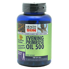 Health From The Sun Evening Primrose Oil 500 - TrueCore Supplements