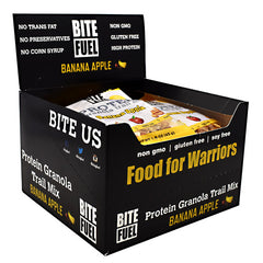 Bite Fuel Protein Granola Trail Mix - Banana Apple - 10 ea - 855852006027