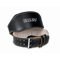 Valeo Leather Lifting Belt Blk 4 - Valeo Leather Lifting Belt Blk 4 - 736097419028