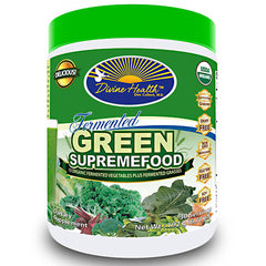 Divine Health Fermented Green SupremeFood - 30 Servings - 855522003004