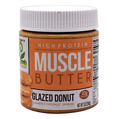 You Fresh Naturals Muscle Butter - Glazed Donut - 12 oz - 804879564263