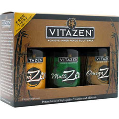 Vitazen OmegaZen, MultiZen, CogniZen - TrueCore Supplements
