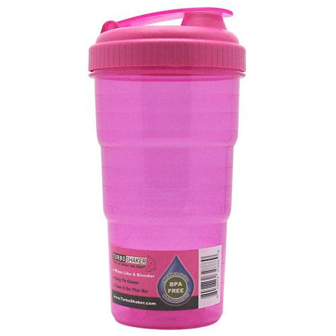 Active Ventures Unlimited TurboShaker - Pink - 25 oz - 804879328889