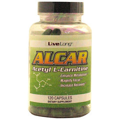 Live Long Nutrition Alcar Acetyl L-Carnitine - TrueCore Supplements