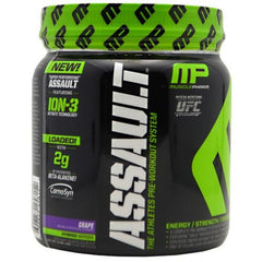 Muscle Pharm Hybrid Series Assault - Grape - 30 Servings - 696859258152