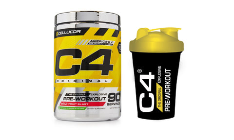 Cellucor C4 Original Pre-Workout - 90 Servings with Mini Shaker