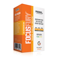 Rebel Performance Focus Fury - 60 Capsules - 080687631551