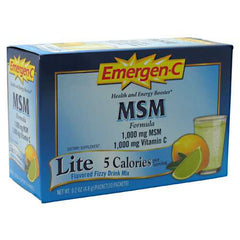 Emergen-C MSM - TrueCore Supplements
