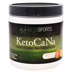KetoSports KetoCaNa - Natural Orange - 16 Servings - 733428008074
