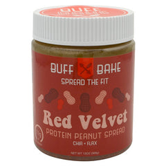 Buff Bake Protein Peanut Butter Spread - Red Velvet - 13 oz - 857697005432