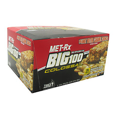 MET-Rx Big 100 Colossal - Peanut Butter Caramel Crunch - 9 Bars - 786560557009