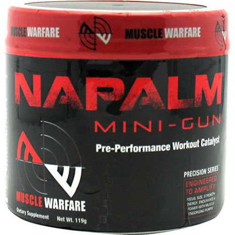 Muscle Warfare Napalm Mini Gun - TrueCore Supplements