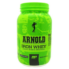 Arnold By Musclepharm Iron Whey - Strawberry Banana - 2 lb - 696859261589