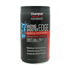 Champion Nutrition Amino Shooter Edge - Blue Raspberry - 30 Servings - 027692135490