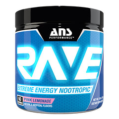 ANS Performance Rave - Pink Lemonade - 60 Servings - 638037635928