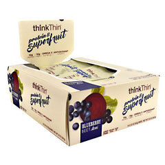 Think Products Think Thin Superfruit - Blueberry Beet Acai - 9 Bars - 753656713243