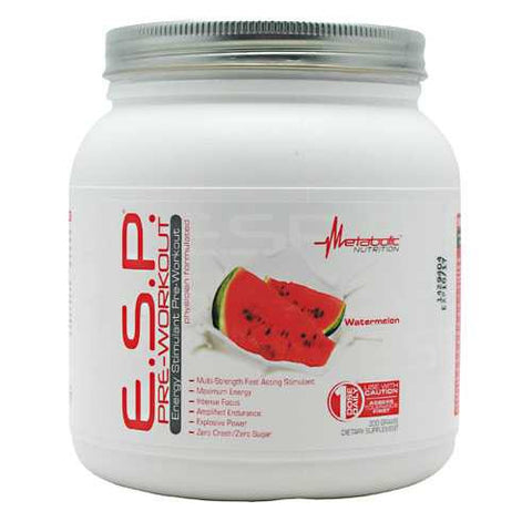 Metabolic Nutrition E.S.P. Pre-Workout