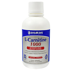 MRM L-Carnitine 1000 - Natural Vanilla - 17 oz - 609492722119
