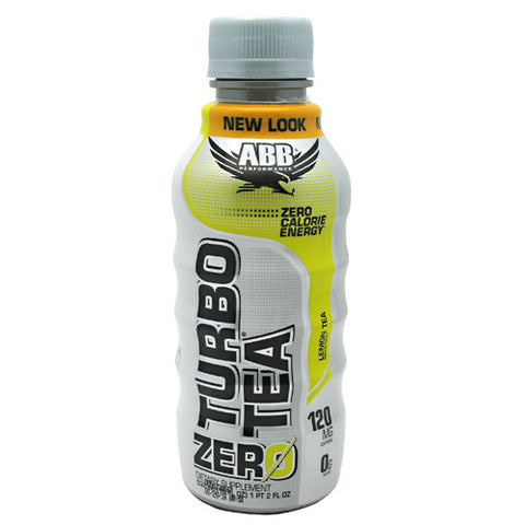 ABB Turbo Tea Zero - Lemon Tea - 12 Bottles - 00045529889941