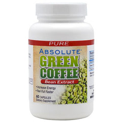 Absolute Nutrition Green Coffee Extract - 60 Capsules - 708235089240