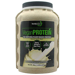 BodyLogix Alll Natural Plant-Based Protein - Natural Vanilla Bean - 1.85 lb - 694422031829