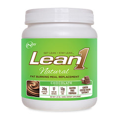 Nutrition53 Lean 1 Natural - Chocolate - 1.12 lb - 810033012402
