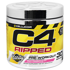 Cellucor iD Series C4 Ripped - Fruity Rainbow Blast - 30 Servings - 842595103212