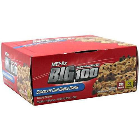 MET-Rx Big 100 Meal Replacement Bar - TrueCore Supplements