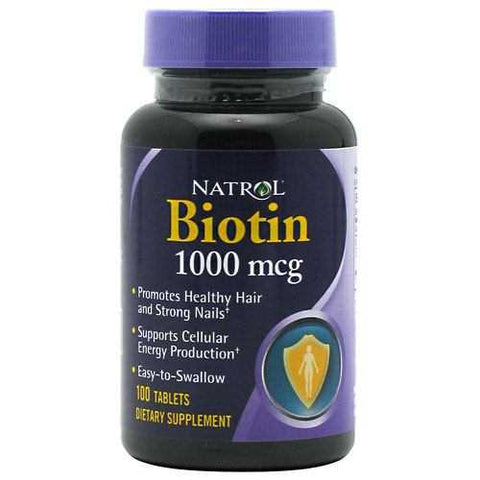 Natrol Biotin - TrueCore Supplements  - 1