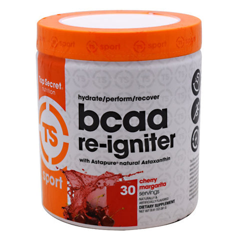Top Secret Nutrition Sport BCAA Re-Igniter - Cherry Margarita - 30 Servings - 811226021874