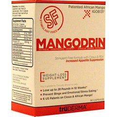 Truderma Mangodrin Stimulant Free - TrueCore Supplements