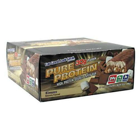 Worldwide Sport Nutritional Supplements Pure Protein High Protein Double Layer Bar - TrueCore Supplements