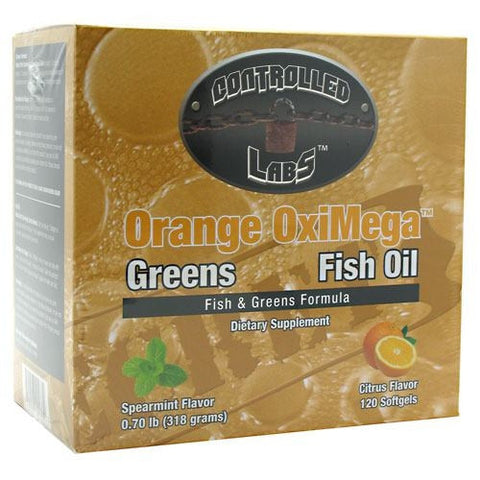 Controlled Labs Orange OxiMega-Fish & Greens Formula - Citrus - 1 ea - 895328001682