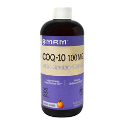 MRM Co-Q 10 with L-Carnitine - Orange-Vanilla - 16 oz - 609492722171