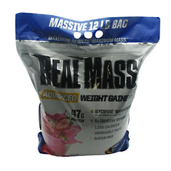 Gaspari Nutrition Real Mass - Strawberry Milkshake - 12 lb - 646511022669