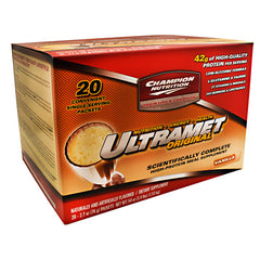 Champion Nutrition Ultramet Original - Vanilla - 20 Packets - 027692111104