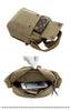 Men's Small Vintage Multipurpose Canvas Shoulder/ Messenger Bag