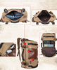 Canvas Messenger/ Shoulder/ Book bag for School/Working/Hiking/Camping and Travel for Men