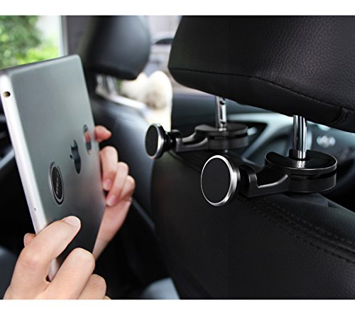 Ipad Mini 4 Premium Car Headrest Mount Tablet Phone Holder Swivel Cradle Back Seat Entertainment Dock