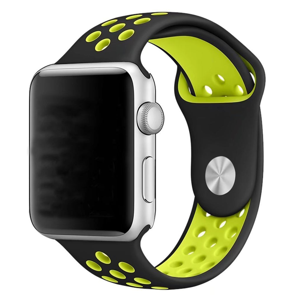 Soft Silicon Durable Replacement Band Strap for Apple Watch Series 1 Series 2, 42mm Sport Edition