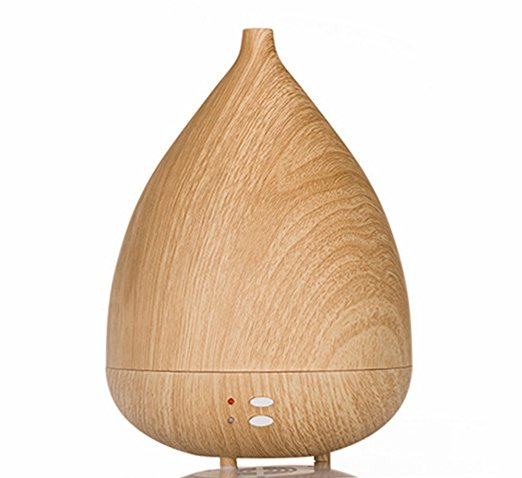 Aromatherapy Diffuser Wood Grain Essential Oil Ultrasonic Humidifier Cool Mist Air Purification