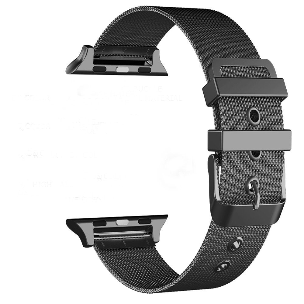 Stainless Steel Metal Navor Band Bracelet for Apple Watch 42mm with With Classic Buckle for Series 1-2-3