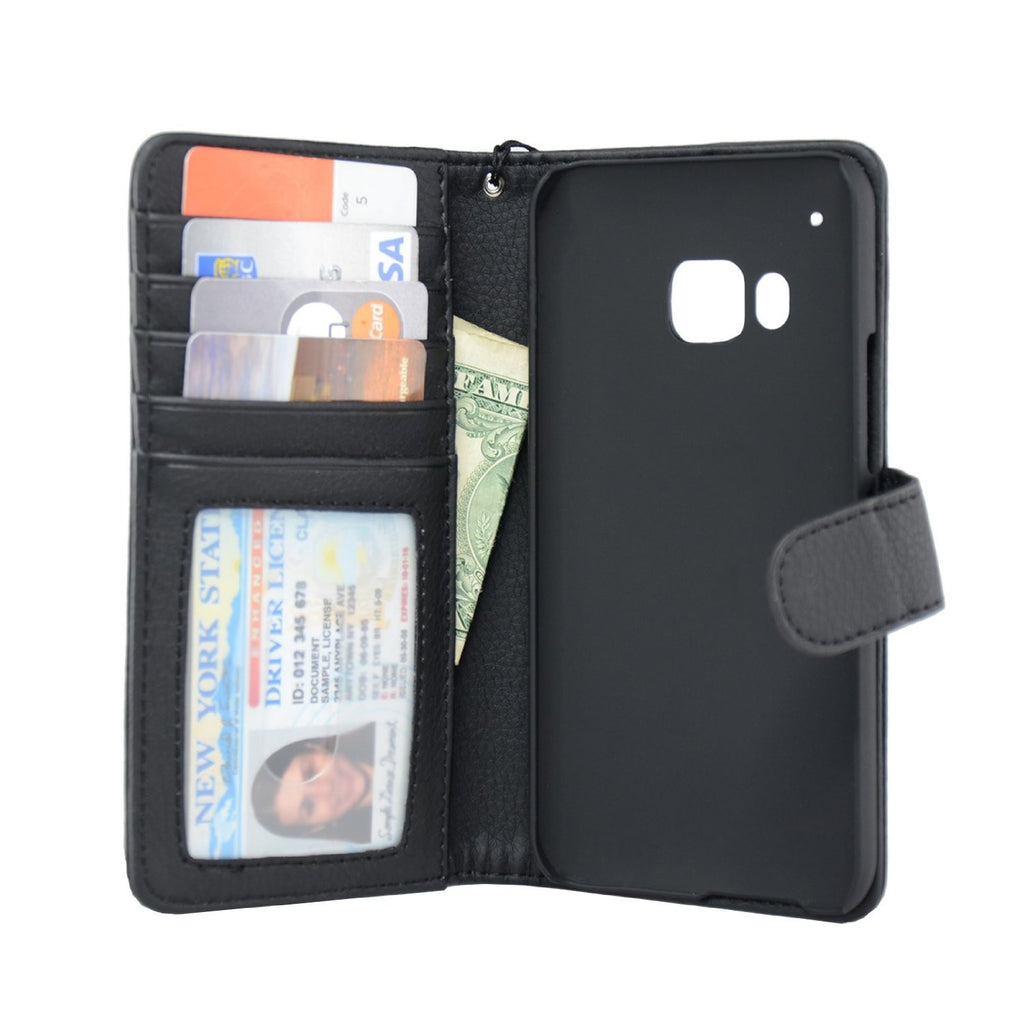 HTC-M9 Wallet Case