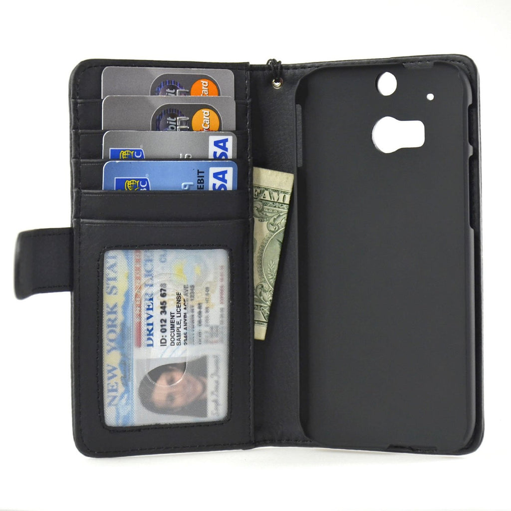 HTC-M8 Wallet Case